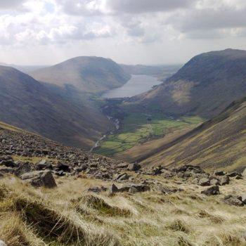 Cumbrian Fells and lake