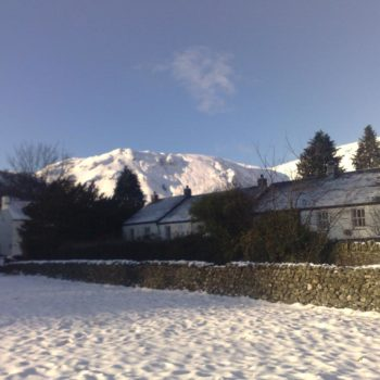 Snow at Borrowdale