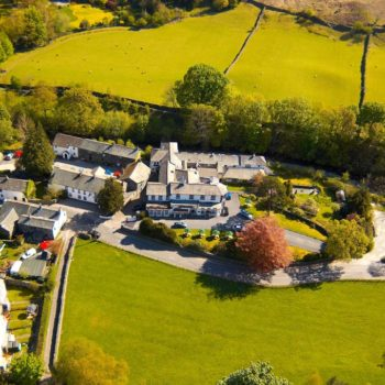 Scafell Hotel aerial photo
