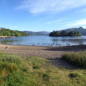 Derwent Water in the Lake District